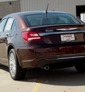 chrysler 200 2013 dk  brown sedan limited flex fuel 6 cylinders front wheel drive automatic 62034