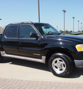 ford explorer sport trac 2002 black suv value gasoline 6 cylinders rear wheel drive automatic with overdrive 76018