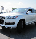audi q7 2013 silver suv 3 0t quattro premium plus gasoline 6 cylinders all whee drive 8 speed tiptronic 46410