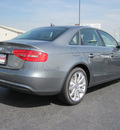 audi a4 2013 gray sedan 2 0t quattro premium plus gasoline 4 cylinders all whee drive 8 speed tiptronic 46410