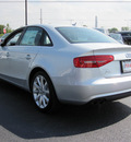 audi a4 2013 silver sedan 2 0t quattro premium plus gasoline 4 cylinders all whee drive 8 speed tiptronic 46410