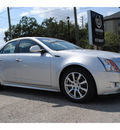 cadillac cts 2013 silver sedan 3 0l luxury gasoline 6 cylinders rear wheel drive automatic 77002