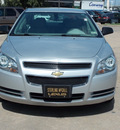 chevrolet malibu 2009 dk  gray sedan ls gasoline 4 cylinders front wheel drive automatic with overdrive 77074