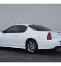 chevrolet monte carlo 2007 white coupe ss gasoline 8 cylinders front wheel drive automatic 79407