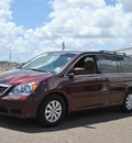 honda odyssey 2010 dk  red van ex gasoline 6 cylinders front wheel drive 5 speed automatic 77099