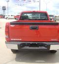 gmc sierra 1500 2012 red work truck gasoline 6 cylinders 2 wheel drive automatic 75964