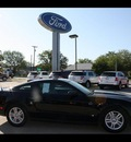 ford mustang 2012 black coupe v6 premium gasoline 6 cylinders rear wheel drive 6 speed automatic 75142