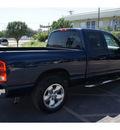 dodge ram 1500 2005 blue pickup truck slt gasoline 8 cylinders rear wheel drive automatic 78753
