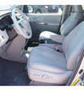 toyota sienna 2012 silver van le 7 passenger auto access sea gasoline 6 cylinders front wheel drive automatic 77074