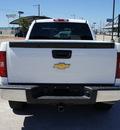 chevrolet silverado 1500 2010 white pickup truck lt flex fuel 8 cylinders 2 wheel drive automatic 76087