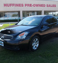 nissan altima 2007 black sedan sl gasoline 4 cylinders front wheel drive automatic 75067