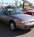 toyota camry 1996 grey sedan gasoline 4 cylinders front wheel drive 5 speed manual 80229