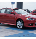 mitsubishi lancer 2012 dk  red sedan gt gasoline 4 cylinders front wheel drive automatic 77094