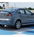 mitsubishi lancer 2012 lt  gray sedan gt gasoline 4 cylinders front wheel drive standard 77094