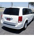 dodge grand caravan 2011 white van mainstreet flex fuel 6 cylinders front wheel drive automatic 78550