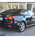 lexus is 250 2009 black sedan gasoline 6 cylinders rear wheel drive automatic 78216