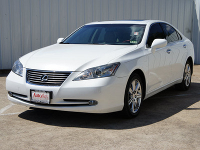 lexus es 350 2009 starfire pearl sedan gasoline 6 cylinders front wheel drive shiftable automatic 75080