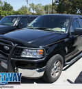 ford f 150 2005 black xlt gasoline 8 cylinders rear wheel drive automatic 75062