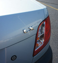 kia rio 2009 lt blue sedan gasoline 4 cylinders front wheel drive manual 19153
