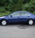 honda accord 2004 dk  blue sedan lx v 6 gasoline 6 cylinders front wheel drive automatic 75672