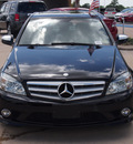 mercedes benz c class 2009 black sedan c300 4matic luxury gasoline 6 cylinders all whee drive autostick 77065