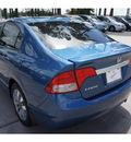 honda civic 2010 blue sedan ex gasoline 4 cylinders front wheel drive automatic 77339