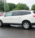 chevrolet traverse 2012 white lt 6 cylinders automatic 55124