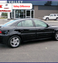 pontiac grand am 2003 black sedan gt 6 cylinders automatic 55124