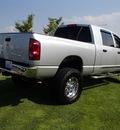 dodge ram pickup 2500 2007 silver laramie 4x4 diesel 6 cylinders 4 wheel drive 6 speed manual 98371