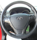 hyundai genesis 2011 red coupe gasoline 4 cylinders rear wheel drive standard 79925