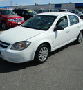 chevrolet cobalt 2010 white sedan ls gasoline 4 cylinders front wheel drive automatic 79925
