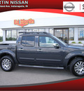 nissan frontier 2012 dk  gray 4wd crew swb sl at gasoline 6 cylinders 4 wheel drive automatic 46219