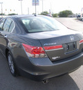 honda accord 2011 dk  gray sedan ex l gasoline 6 cylinders front wheel drive automatic 46219