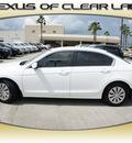 honda accord 2010 white sedan lx gasoline 4 cylinders front wheel drive automatic 77546
