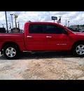 nissan titan 2007 red pickup truck se ffv flex fuel 8 cylinders rear wheel drive automatic 77037