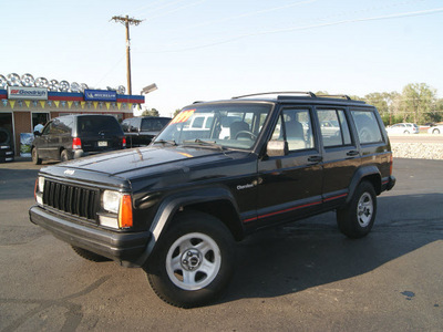 jeep cherokee 1995 black suv sport 6 cylinders automatic 80911