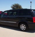 chrysler town and country 2012 black van touring flex fuel 6 cylinders front wheel drive automatic 76018
