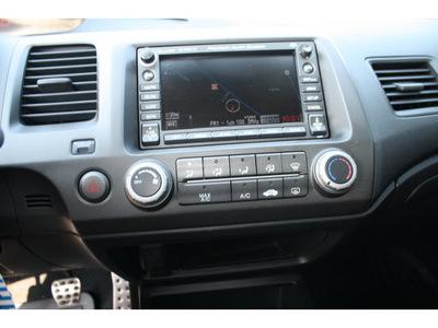 honda civic 2007 dk  gray sedan si w navi gasoline 4 cylinders front wheel drive 6 speed manual 98632
