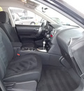 nissan rogue 2009 black suv s gasoline 4 cylinders front wheel drive automatic with overdrive 77477