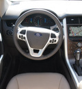 ford edge 2013 white sel gasoline 6 cylinders front wheel drive automatic 76011