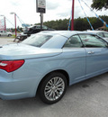 chrysler 200 convertible 2013 lt  blue limited flex fuel 6 cylinders front wheel drive automatic 34731