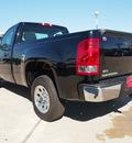 gmc sierra 1500 2012 black work truck flex fuel 8 cylinders 2 wheel drive automatic 77521