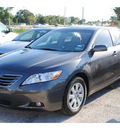 toyota camry 2007 dk  gray sedan xle v6 gasoline 6 cylinders front wheel drive automatic 77020