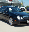 mercedes benz clk class 1999 black coupe clk430 gasoline v8 rear wheel drive automatic with overdrive 77469