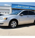 saturn ion 2006 silver sedan 2 gasoline 4 cylinders front wheel drive automatic 77034