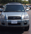 hyundai tucson 2007 lt  green suv limited gasoline 6 cylinders front wheel drive shiftable automatic 77074