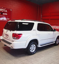 toyota sequoia 2007 white suv limited gasoline 8 cylinders rear wheel drive automatic with overdrive 76116