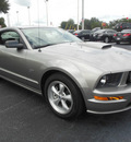 ford mustang 2008 pewter coupe gt premium gasoline 8 cylinders rear wheel drive automatic 34474