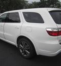 dodge durango 2013 white suv r t gasoline 8 cylinders rear wheel drive automatic 33157