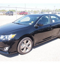 toyota camry 2012 black sedan se sport limited edition gasoline 4 cylinders front wheel drive automatic 77074